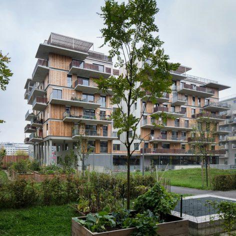 Wohnhaus ?Wohnprojekt Wien?, Wien Leopoldstadt